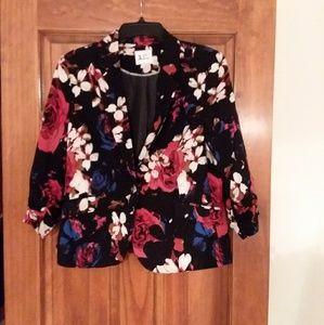 Jules & Leopold Floral Jacket